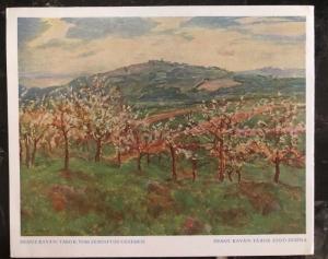1941 Hlinsko Bohemia Moravia Germany Postcard First Day Cover FDC Kavan Exhibiti