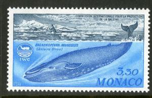 MONACO 1374 MNH SCV $3.75 BIN $2.00 MARINE LIFE