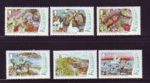 Alderney Sc 291-6 2007 Ramsar Wetlands stamp set mint NH