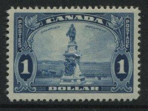 Canada 1935 $1 Champlain mint o.g.