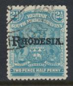 British South Africa Company / Rhodesia  SG 103 Used OPT  Rhodesia see scan