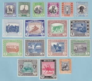 SUDAN 98 - 144  MINT HINGED OG * NO FAULTS EXTRA FINE! - Y305