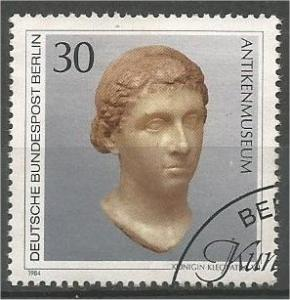 GERMANY, Berlin, 1984, used 30pf, Artwork, Scott 9N488