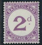 Basutoland  Postage Due  SG D2a  Mint light Hinge trace see details