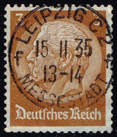 Germany #416 Paul von Hindenburg; Used (0.40)