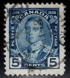 CANADA Scott 214 Used Prince of Wales stamp