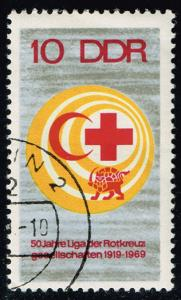 Germany DDR #1099 Red Cross; CTO (0.25)
