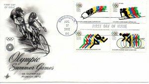 US FDC #1460/C85 Olympics, ArtCraft (9232)