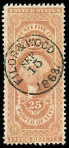 momen: US Stamps #R48c Used Revenue
