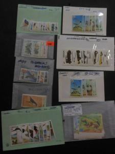 GRENADA & GRENADINES : Beautiful collection. All VF MNH. Topicals. Sc Cat