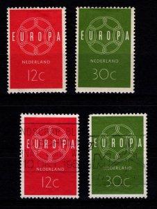 Netherlands 1959 Europa Set [Unused / Used]