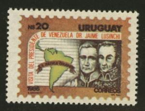 Uruguay Scott 1217 MNH** from 1986