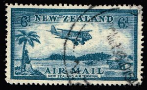 NEW ZEALAND STAMP 60 AIR MAIL USED STAMP
