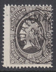 GUATEMALA  An old forgery of a classic stamp................................D466