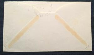 New Zealand 1932 MARINE POST OFFICE RMMS AORANGI PACKET BOAT Cover to San Pedro