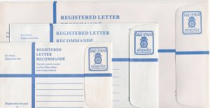 Isle of Man 48 Unused Registered Mail Envelopes, Heavy Weight Envelopes