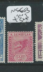 MALAYA NEGRI SEMBILAN (P0308B2)  TIGER 2C   SG 3  MOG