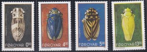 Faroe Islands 276-279 MNH (1995)
