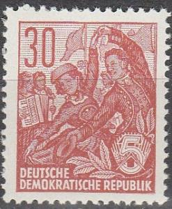 DDR #479  MNH F-VF (SU5077)