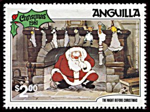 Anguilla 460, MNH, Disney The Night Before Christmas 1981