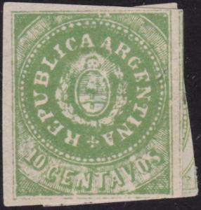 ARGENTINA  An old forgery of a classic stamp...............................6992