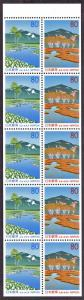 Japan Z244b pane mnh 1998 Oze district (Gunma Pref.)