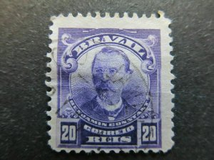 A4P32#79 Brazil 1906-16 20r used