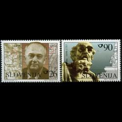 SLOVENIA 1998 - Scott# 319-20 Famous Persons Set of 2 NH