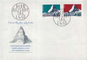 Switzerland, First Day Cover