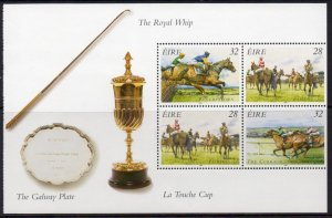 Ireland MNH S/S 1003b The Royal Whip Irish Horse Racing 1996