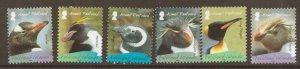 FALKLAND ISLANDS SG1120/5 2008 BREEDING PENGUINS MNH
