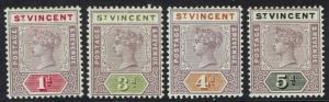 ST VINCENT 1899 QV TABLET 1D 3D 4D AND 5D