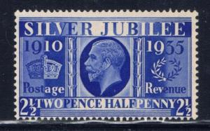 Great Britain 229 Hinged 1935 KGV Silver Jubilee