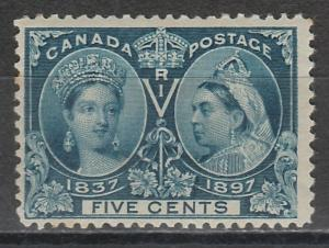 CANADA 1897 QV JUBILEE 5C MNH **