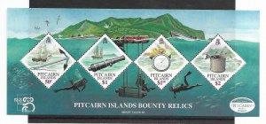 Pitcairn Islands #500a-d MNH - Stamp Set