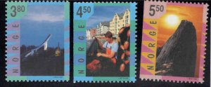 Norway Scott 1191-1193 MNH** Tourism set