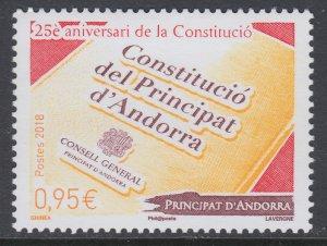 Andorra Spanish 787 MNH VF