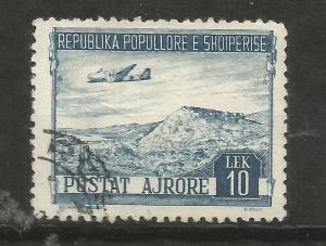 Albania Scott # C 58 used