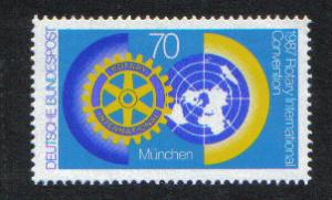 Germany  1987  MNH  Rotary complete