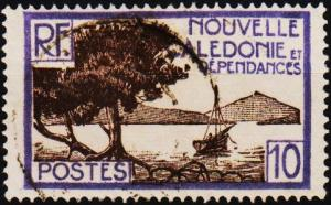 New Caledonia. 1928 10c  S.G.142 Fine Used