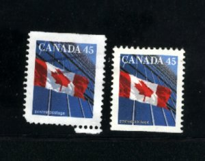 Canada #1361as-62as   used VF  PD