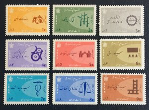 Middle East,worldwide,p,1966  MNH ** White Revolution , Shah,pars