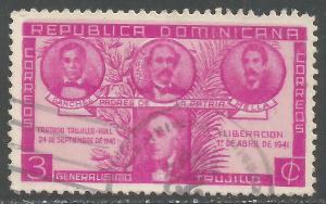 DOMINICAN REPUBLIC 369 VFU N901-9
