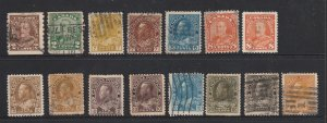 Canada a small used lot of KGV