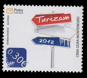 Montenegro 307 MNH