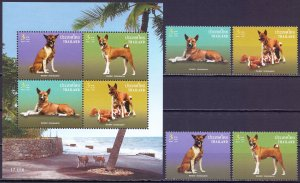 Thailand. 2006. 2459-62bl201. Dogs. MNH.