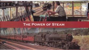 Isle Of Man 2004 The Power of Steam Presentation Pack SG1125-30 MNH