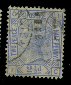 Great Britain #82 Used F-VF Cat$30