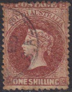 South Australia 1867-1874 SC 52d Used