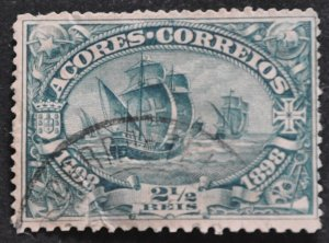 DYNAMITE Stamps: Azores Scott #93 – USED